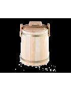 Дубовая кадка для солений купить в Калининграде.